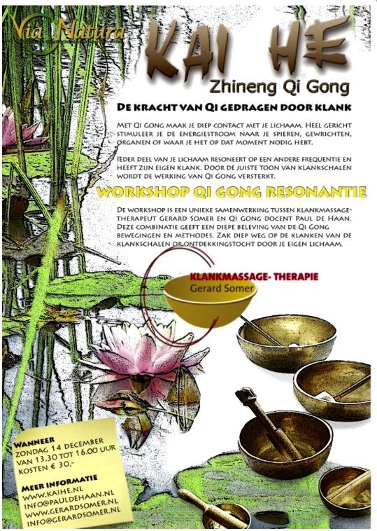 Qi Gong en Klankschalen